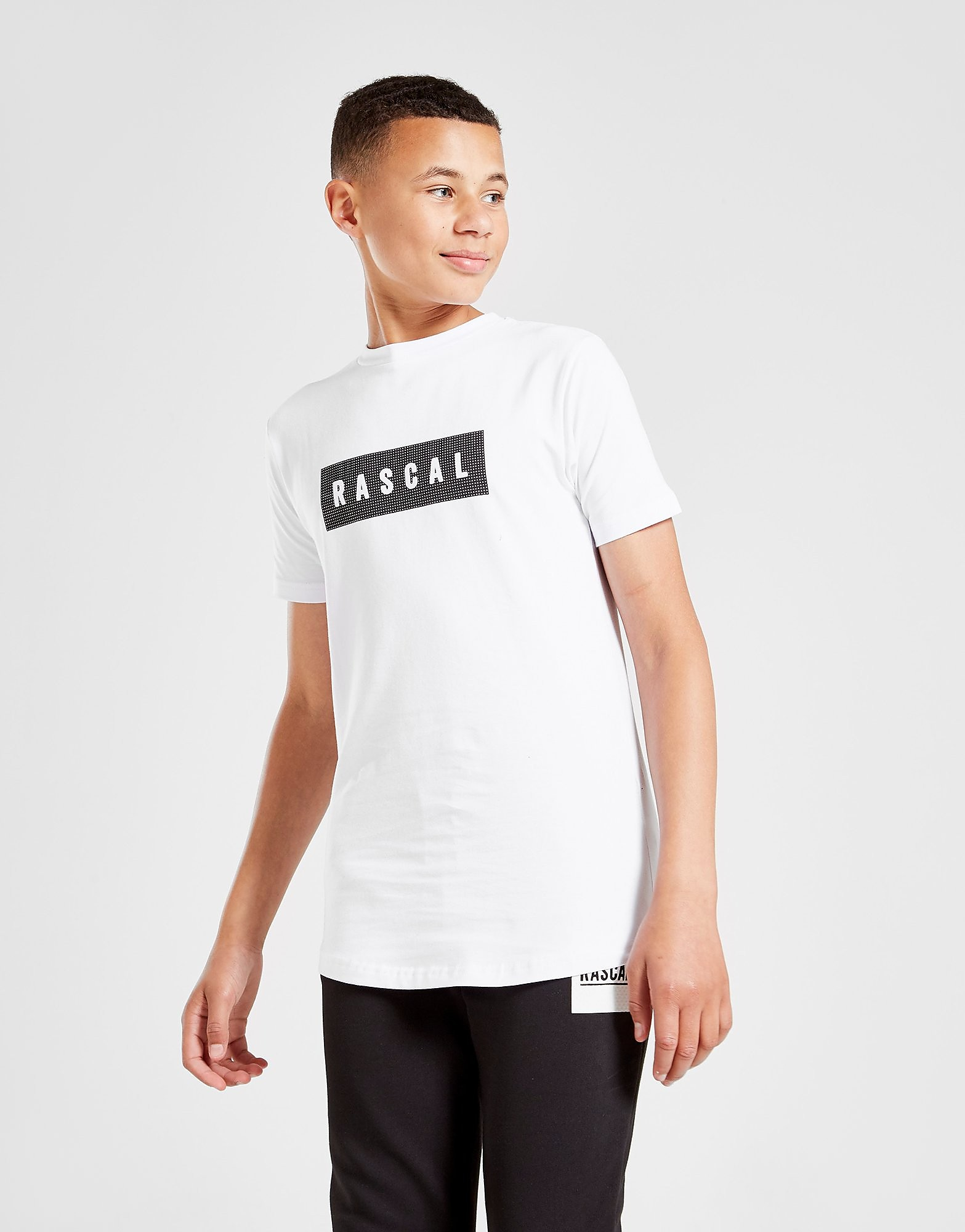 Rascal Charlton Box T-Shirt Junior - Only at JD, Vit