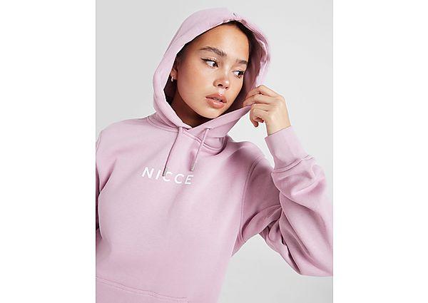 Ropa deportiva Mujer Nicce sudadera con capucha Small Logo Boyfriend, Pink