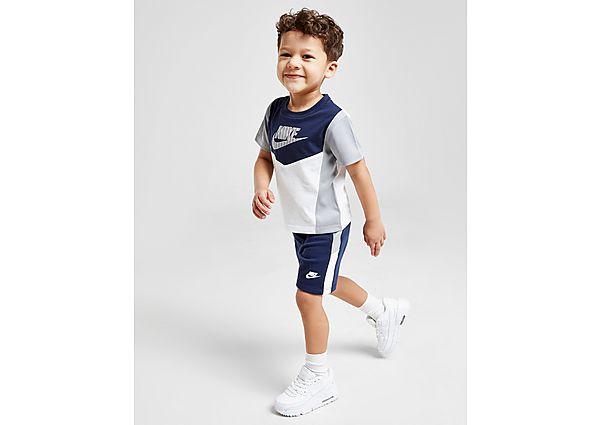 Comprar Ropa deportiva para niños online Nike conjunto camiseta/pantalón corto Hybrid para bebé