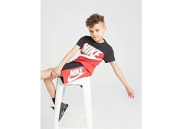 Nike Colour Block T-Shirt/Shorts Set Children - Kind