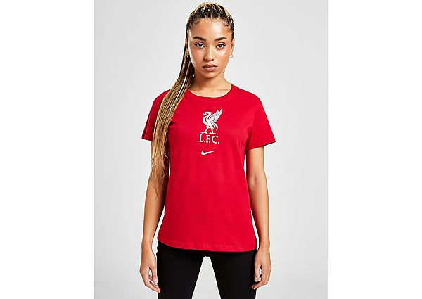 Ropa deportiva Mujer Nike Liverpool FC Crest Short Sleeve T-Shirt