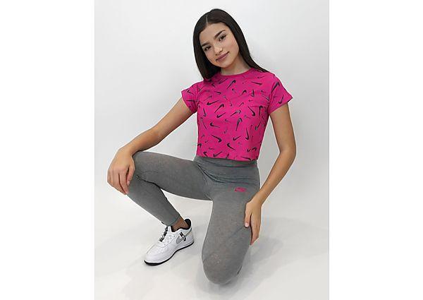 Comprar Ropa deportiva para niños online Nike camiseta Crop Sportswear Swoosh júnior