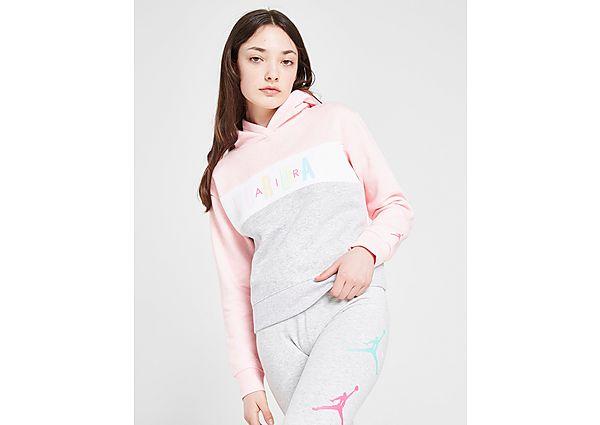 Comprar deportivas Jordan Girls' Air Colour Block Crop Hoodie Junior