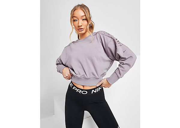 Ropa deportiva Mujer Nike Training Cropped Fleece Crew Sweatshirt