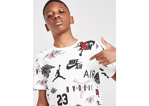 Comprar Ropa deportiva para niños online Jordan camiseta Jumpman All Over Print júnior