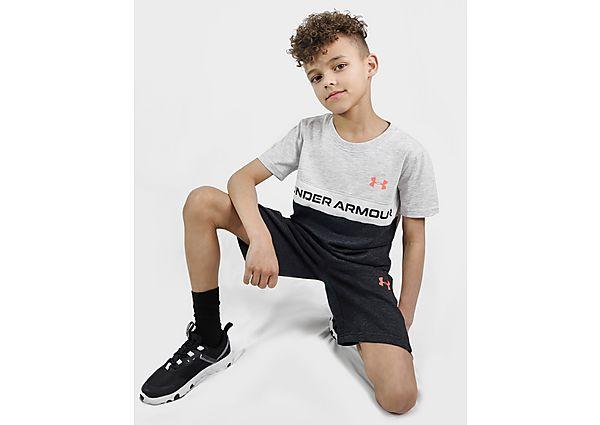 Under Armour Colour Block Panel T-Shirt/Shorts Set Children - Kind