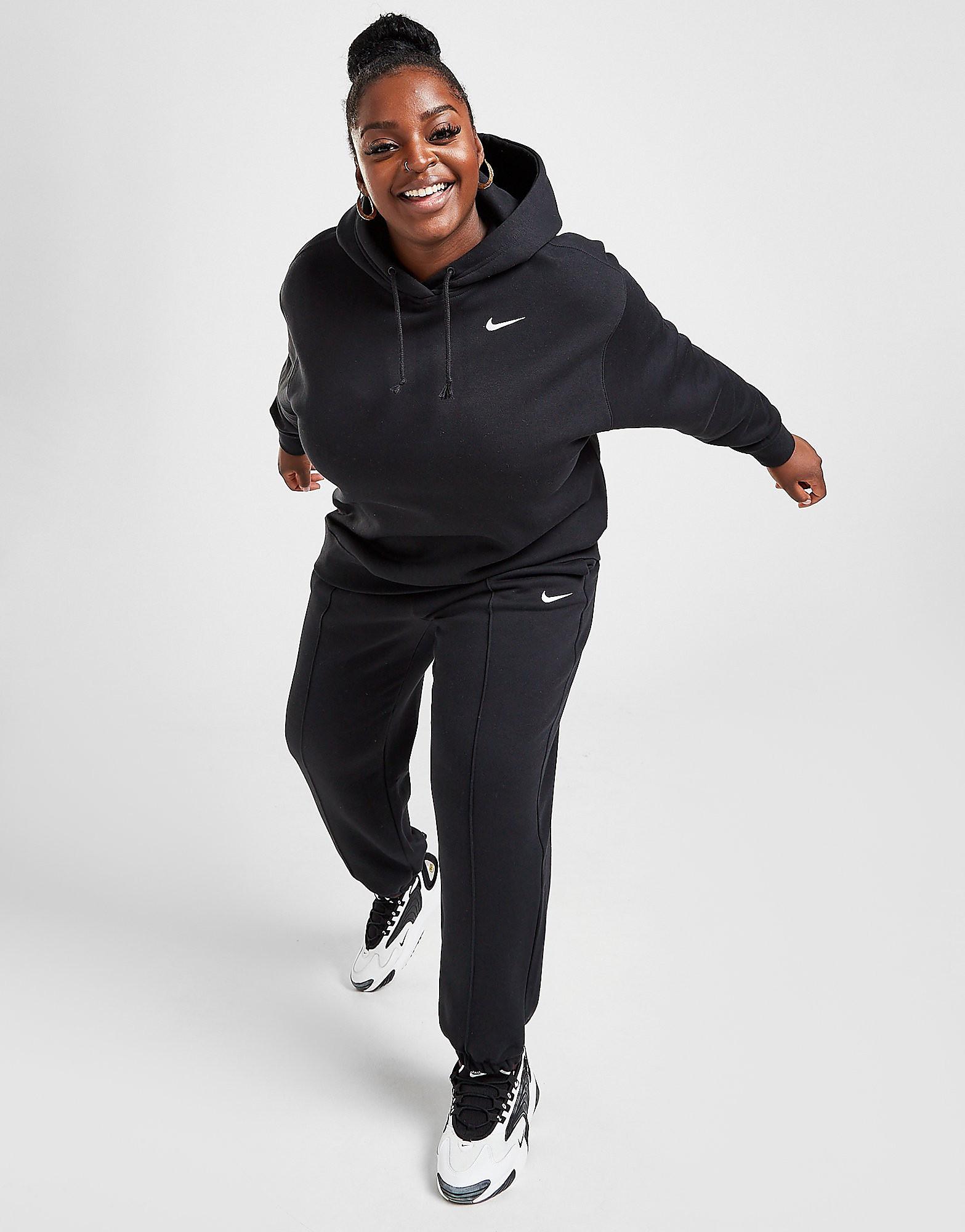 Nike Trend Fleece Plus Size Träningsbyxor Dam, Svart