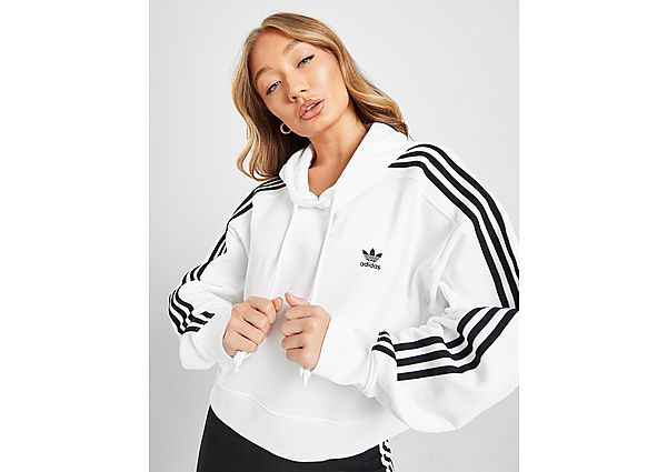 Ropa deportiva Mujer adidas Originals sudadera crop 3-Stripes Adicolour