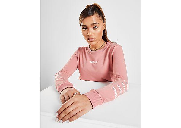 Ropa deportiva Mujer adidas Originals Repeat Linear Long Sleeve T-Shirt