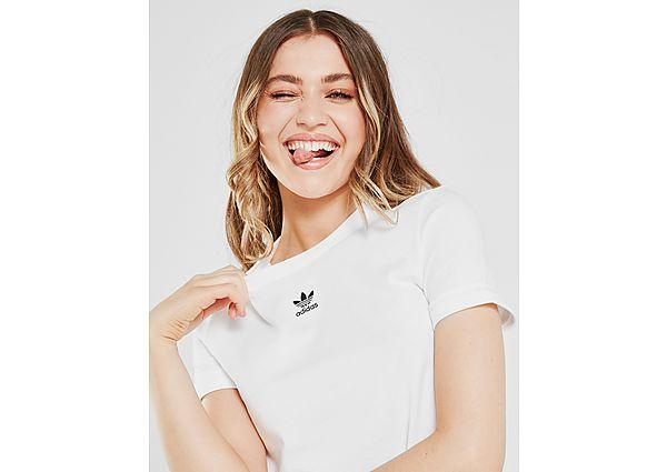 Ropa deportiva Mujer adidas Originals camiseta crop Essential