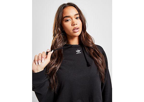 Ropa deportiva Mujer adidas Originals sudadera Crop con capucha Essential