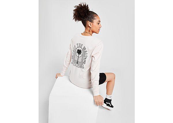 Ropa deportiva Mujer Vans camiseta de manga larga Sun Born Boyfriend