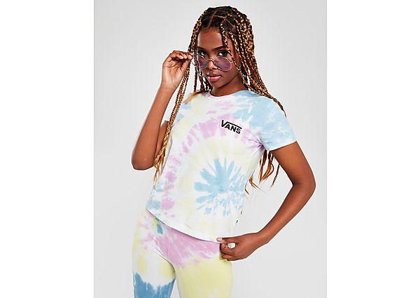 Ropa deportiva Mujer Vans camiseta crop Tie Dye Slim