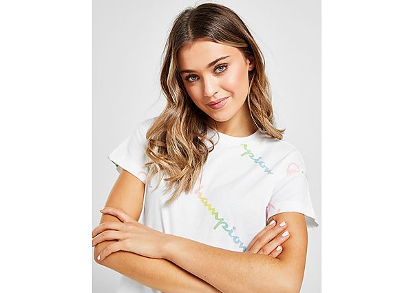 Ropa deportiva Mujer Champion camiseta Ombre All Over Print