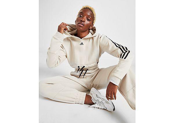Ropa deportiva Mujer adidas sudadera micro Crop 3-Stripes