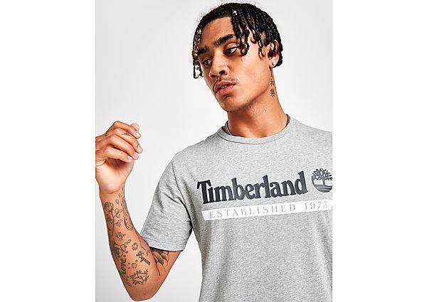 Timberland camiseta Linear Est. 1973, Grey