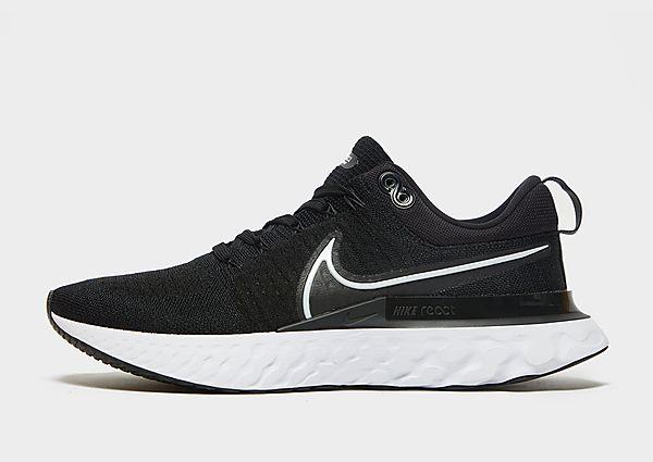 Nike React Infinity Run Flyknit 2, Black/White/White