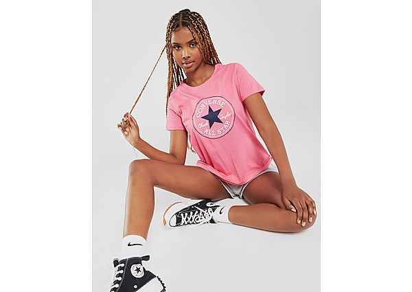 Ropa deportiva Mujer Converse camiseta Chuck Taylor
