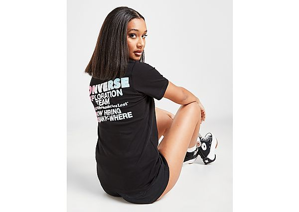 Ropa deportiva Mujer Converse camiseta Explore