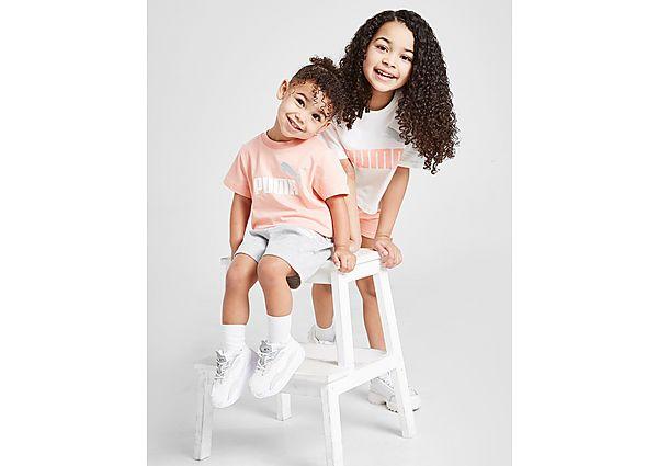 Comprar Ropa deportiva para niños online Puma conjunto camiseta/pantalón corto Essential para bebé