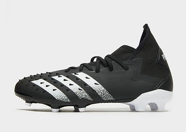 adidas Bota de fútbol Predator Freak.2 césped natural seco, Core Black / Cloud White / Core Black