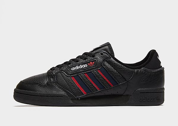 adidas Originals Zapatilla Continental 80 Stripes, Core Black / Collegiate Navy / Vivid Red