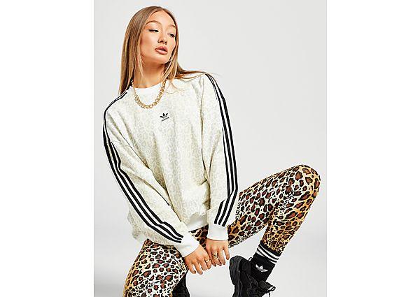 Ropa deportiva Mujer adidas Originals sudadera Leopard Lux