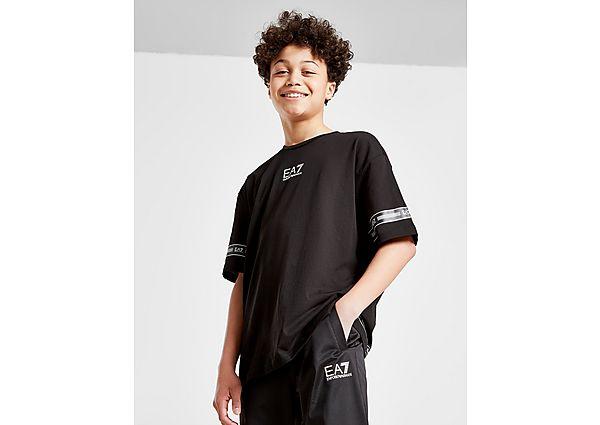 Comprar Ropa deportiva para niños online Emporio Armani EA7 camiseta Logo Series Tape júnior