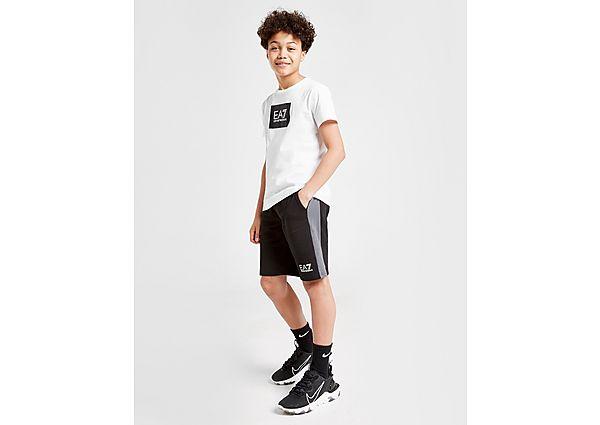 Comprar Ropa deportiva para niños online Emporio Armani EA7 pantalón corto Core Fleece Colour Block júnior