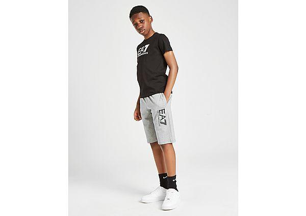 Comprar Ropa deportiva para niños online Emporio Armani EA7 pantalón corto Visibility French Terry júnior