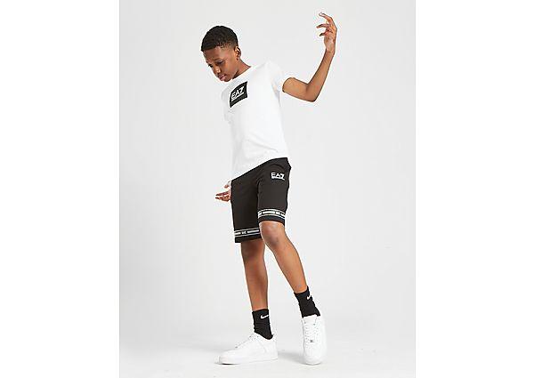 Comprar Ropa deportiva para niños online Emporio Armani EA7 pantalón corto Logo Series júnior