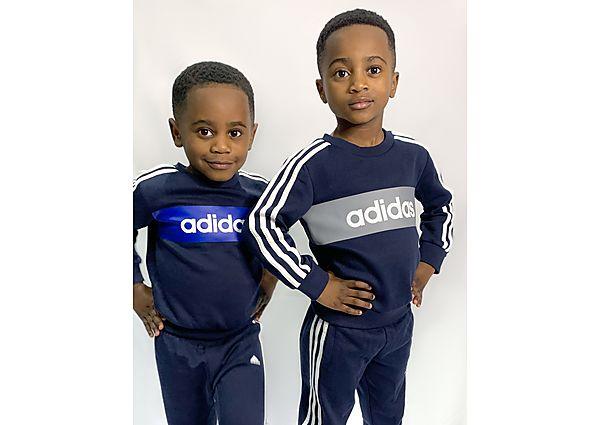 Comprar Ropa deportiva para niños online adidas Linear Essential Crew Tracksuit Children
