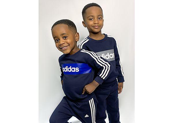 Comprar Ropa deportiva para niños online adidas Linear Essential Crew Tracksuit Infant