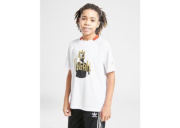 Comprar Ropa deportiva para niños online adidas camiseta Salah Graphic júnior
