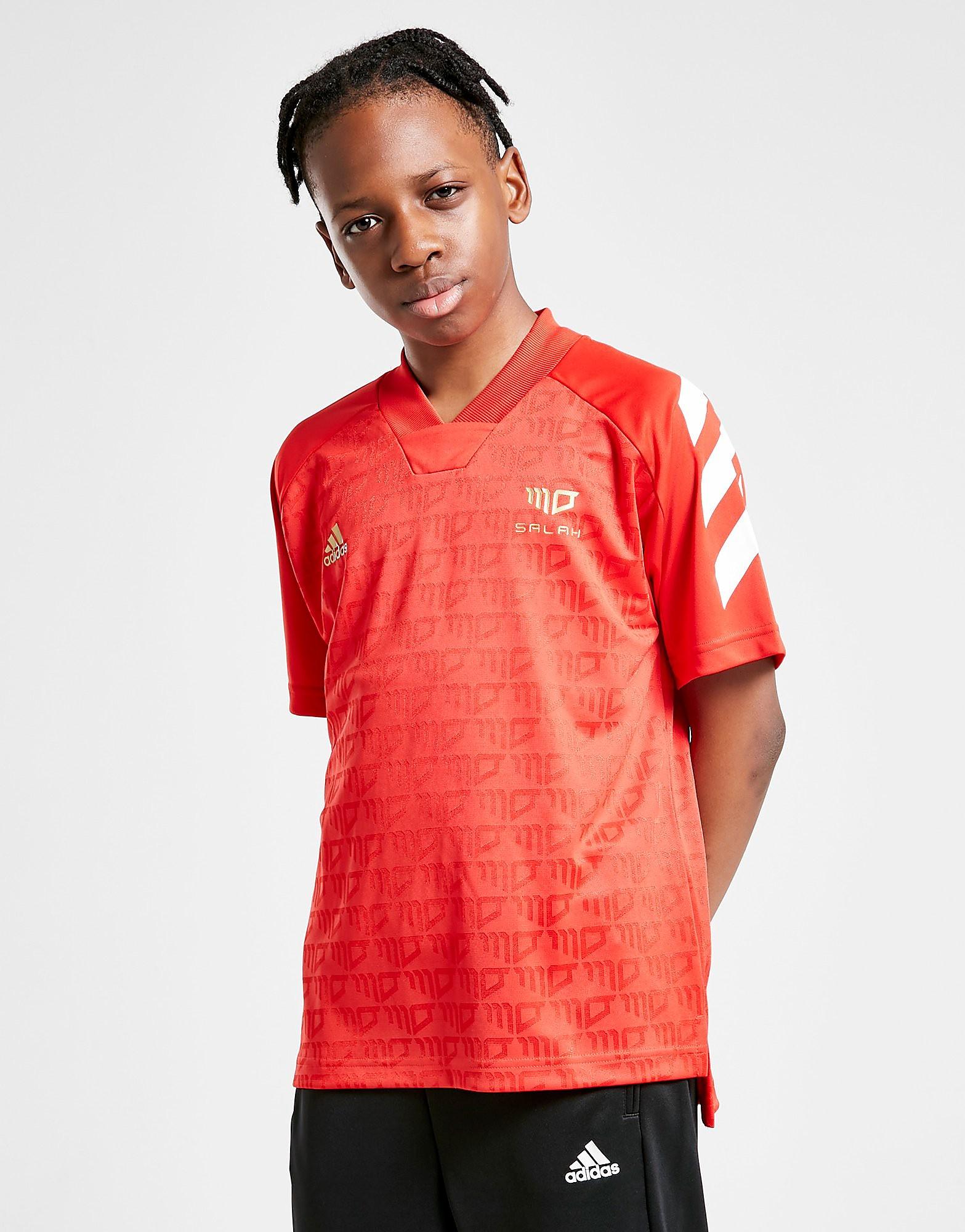 adidas Salah Jersey T-Shirt Junior, Röd