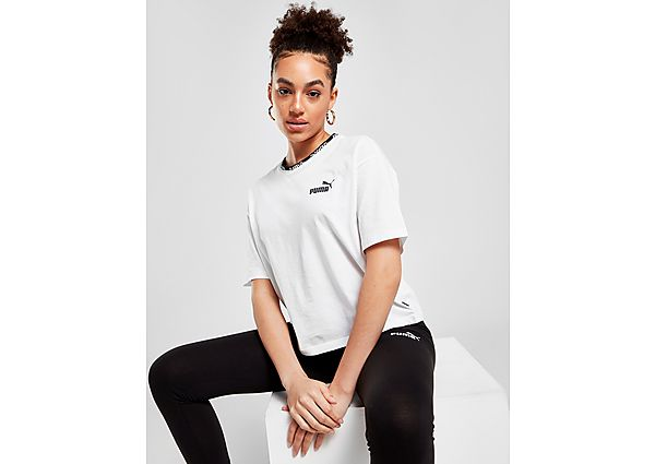 Ropa deportiva Mujer Puma camiseta crop Amplified Tape