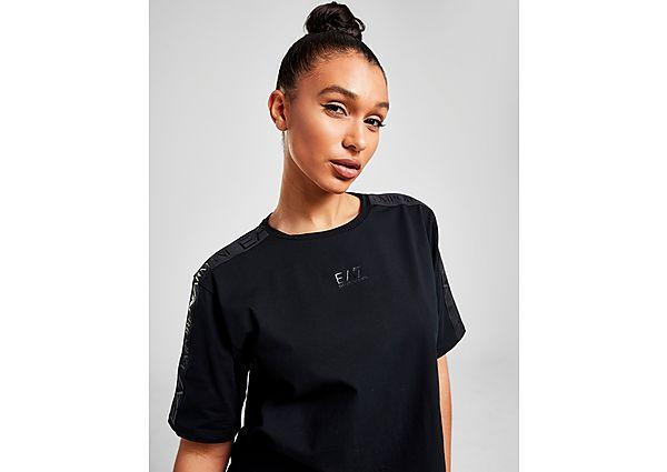 Ropa deportiva Mujer Emporio Armani EA7 camiseta Crop Tape