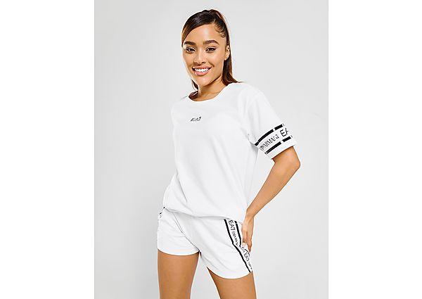 Ropa deportiva Mujer Emporio Armani EA7 camiseta Tape Logo Boyfriend
