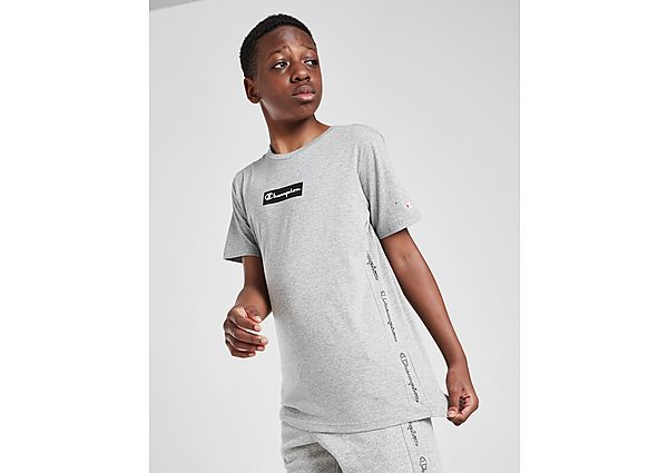 Comprar Ropa deportiva para niños online Champion camiseta Tape Box Logo júnior