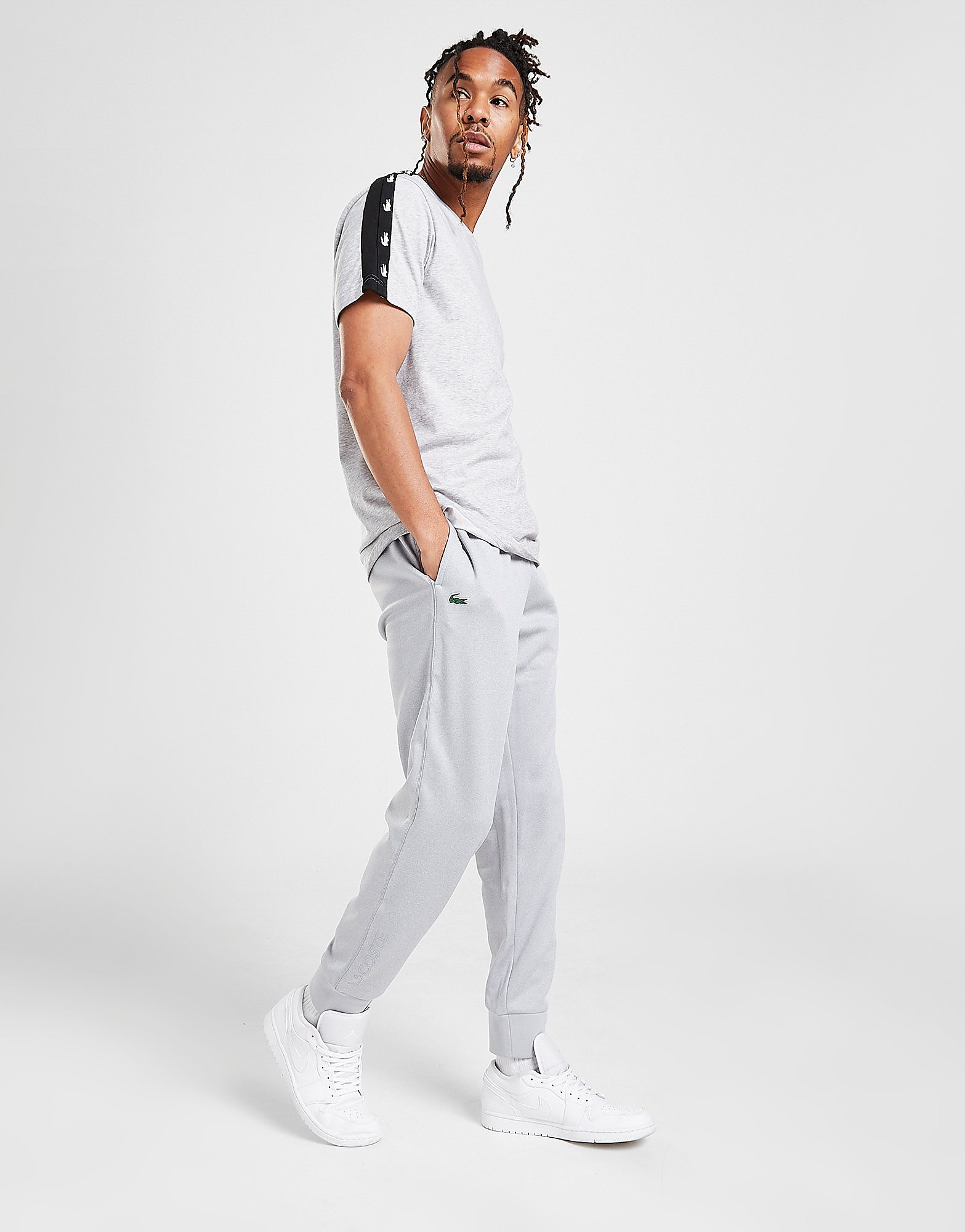 Lacoste Poly Fleece Track Pants - Only at JD, Grå