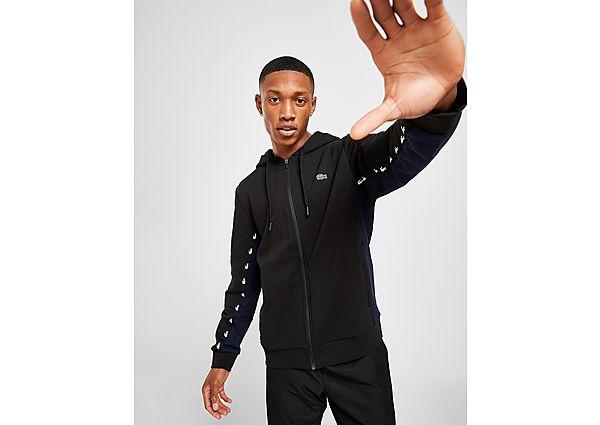 Lacoste chaqueta con capucha Croc Tape
