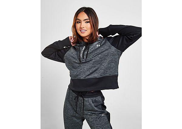 Ropa deportiva Mujer Under Armour UA Armour Fleece Crop 1/4 Zip Hoodie