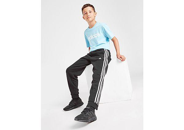 adidas 3-Stripes Fleece Joggers Junior