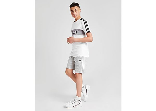 Comprar Ropa deportiva para niños online adidas pantalón corto 3-Stripes French Terry júnior