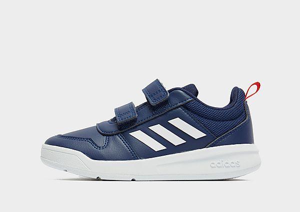 Adidas Tensaur infantil, Dark Blue / Cloud White / Active Red