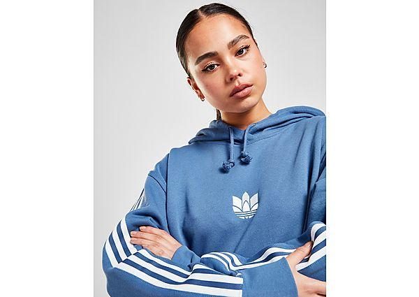 Ropa deportiva Mujer adidas Originals sudadera con capucha 3D Trefoil