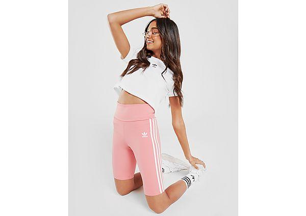 Calzoncillos Deportivos adidas Originals mallas cortas 3-Stripes High Waist