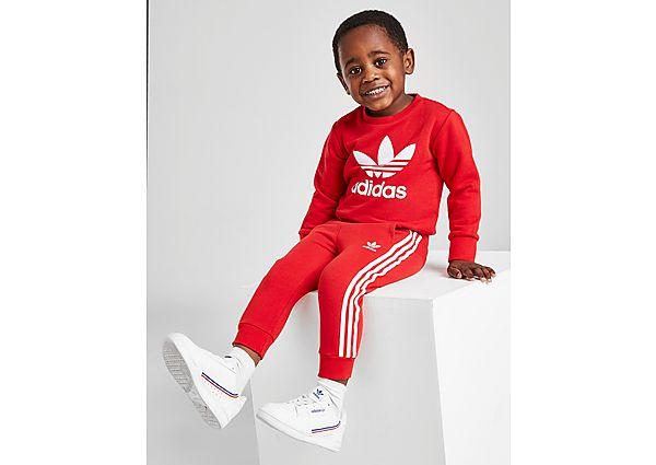 Adidas Originals Trefoil Logo Crew Trainingspak Baby's