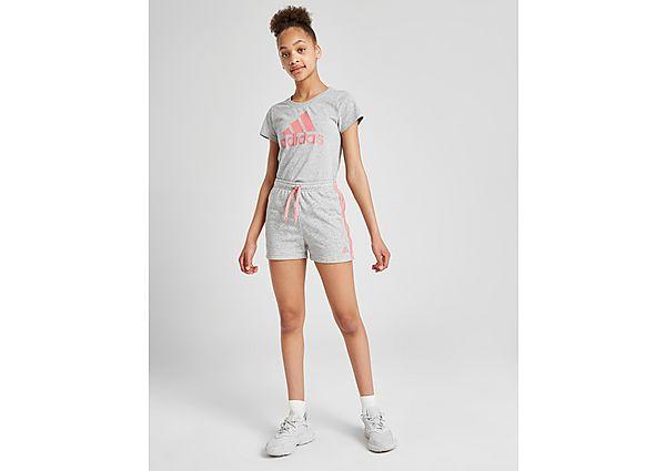 Comprar Ropa deportiva para niños online adidas camiseta Large Linear Logo júnior
