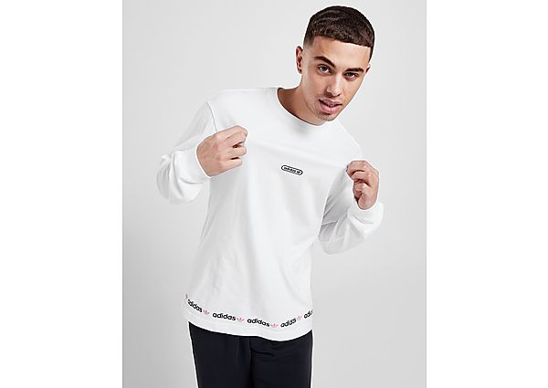 adidas Originals Linear Repeat Long Sleeve T-Shirt